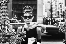 Aluminium print  Breakfast at Tiffany's - Celebrity Collection