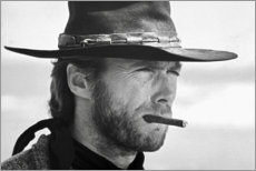 Canvas print  Clint Eastwood in The Good, the Bad and the Ugly - Celebrity Collection