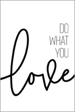 Wall sticker  Do what you love - Melanie Viola
