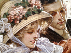 Premium poster  Togetherness - Joseph Christian Leyendecker