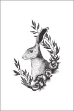 Wall sticker  Hare - RNDMS