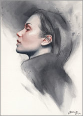 Premium poster Woman in profile