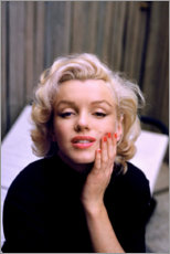 Premium poster Marilyn Monroe in color