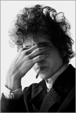 Canvas print  Bob Dylan I - Celebrity Collection