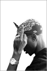 Canvas print  2pac - Celebrity Collection