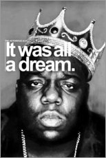 Canvas print  The Notorious B.I.G. - Celebrity Collection