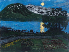 Canvas print  The moon in May - Nikolai Astrup