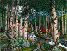 Canvas print  Foxgloves - Nikolai Astrup