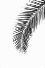 Aluminium print  Palm Frond - Art Couture