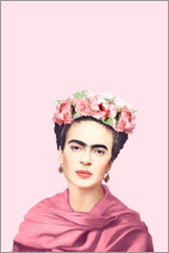 Canvas print  Homage an Frida - Celebrity Collection
