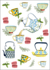 Foam board print  Tasteful tea time - Grace Popp