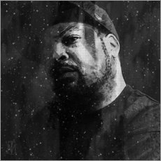 Canvas print  Ice Cube - Michael Tarassow