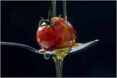 Canvas print  Tomato and olive oil - Uwe Merkel