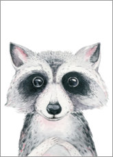 Premium poster  Raccoon friend - Kidz Collection