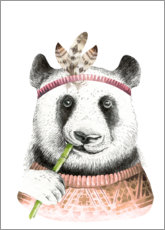 Premium poster  Panda friend - Kidz Collection