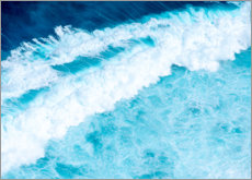 Canvas print  Azure waves