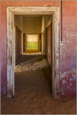 Aluminium print  Abandoned house in the ghost town Kolemanskop - Markus Niegtsch