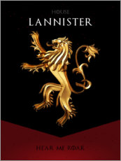 Premium poster House Lannister