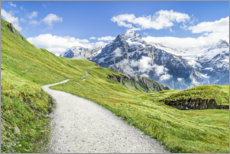 Acrylic print  Swiss Alps at Grindelwald - Jan Christopher Becke