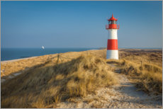 Acrylic print  Lighthouse List Ost on Sylt, Germany - Christian Müringer