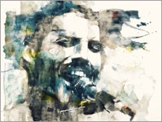 Canvas print  Freddie Mercury - The Show Must Go On - Paul Lovering Arts