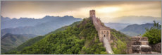 Canvas print  Great Wall of China - Jan Christopher Becke