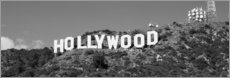 Acrylic print  Hollywood Sign in Los Angeles, California