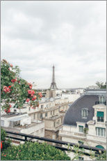 Acrylic print  Balcony view of Paris - TBRINK