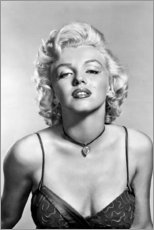 Canvas print  Marilyn Monroe - sexy portrait - Celebrity Collection
