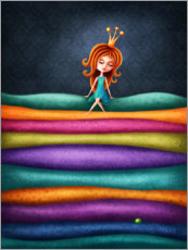 Premium poster The Princess and the Pea