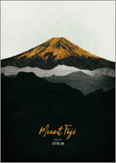 Canvas print  Mount Fuji - Tobias Roetsch