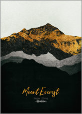 Premium poster  Mount Everest - Tobias Roetsch