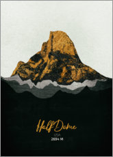 Wall Sticker  Half Dome - Tobias Roetsch