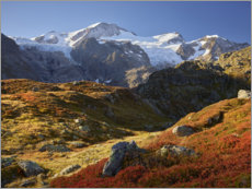 Acrylic glass  Alps fall - Rainer Mirau