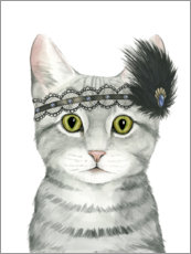 Gallery print  Cat of Downton II - Grace Popp