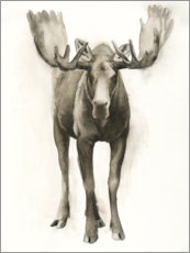 Wall sticker  Majestic moose - Grace Popp