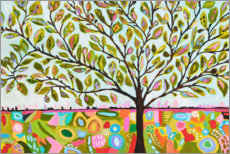 Gallery print  Happy tree of life - Karen Fields