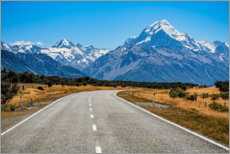 Canvas print  Mount Cook - Stefan Becker