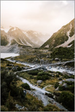 Canvas print  Hooker Valley Track - Stefan Becker