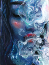 Premium poster  Blissful blue - Tanya Shatseva