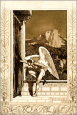Premium poster  Cupid coming, sheet 12 from Cupid and Psyche - Max Klinger