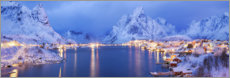 Canvas print  Pure in Lofoten, Norway - Tobias Richter