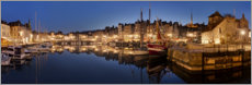 Canvas print  Old town and harbor of Honfleur, Normandy - Tobias Richter