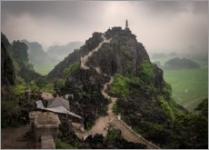 Premium poster  View of the Hang Mua peak, Vietnam - Markus Ulrich