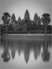 Acrylic print  Temple of Angkor Wat in Cambodia - Markus Ulrich