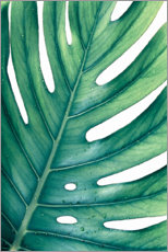 Canvas print  Green Monstera - Art Couture