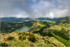 Premium poster Sao Miguel in the Azores
