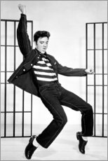 Canvas print  Elvis Presley dancing II - Celebrity Collection