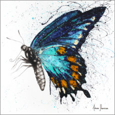 Premium poster Butterfly Bliss