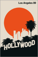 Canvas print  Hollywood, Los Angeles 89 - Bo Lundberg